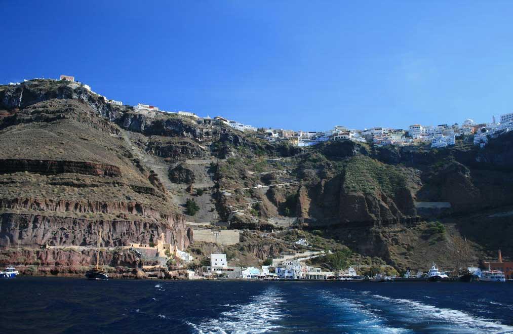 View at Caldera, Santorini.