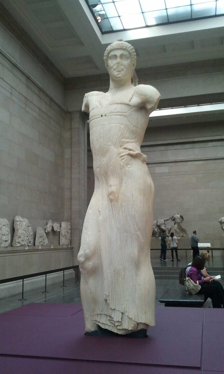 Statue of a Youth (The Mozia Charioteer), Sikeliote (Sicilian Greek), 470-460 BC.