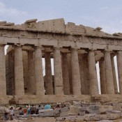 Parthenon. An Icon of Global Citizenship