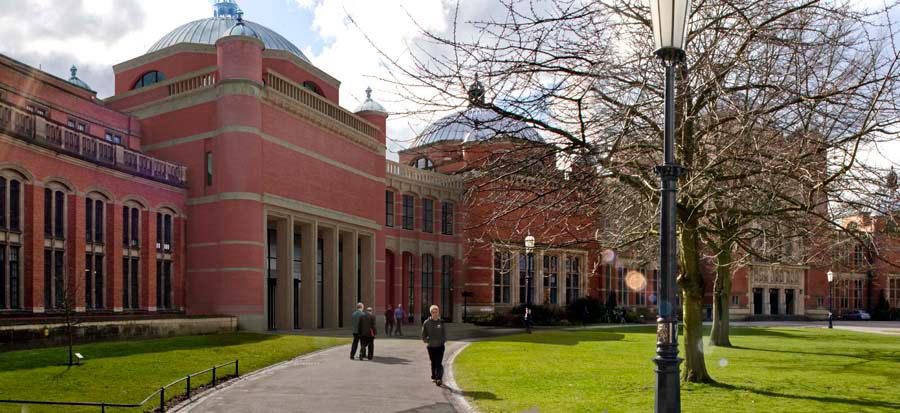 The University of Birmingham.