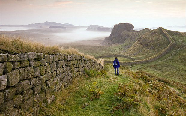 Hadrian's Wall in Northumberland (Getty Images).
