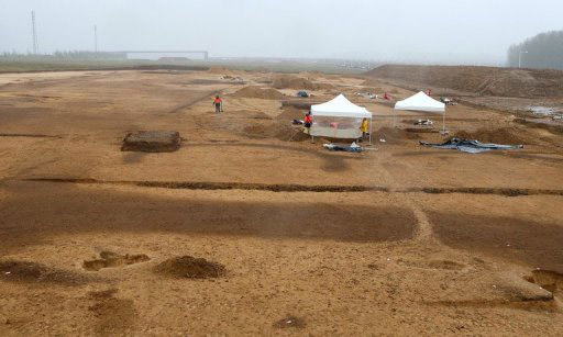 General view of the site in Bucheres, near Troyes (AFP, Francois Nascimbeni).
