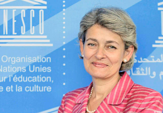 Director General of UNESCO Irina Bokova.