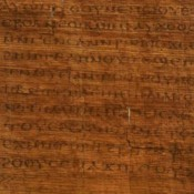 Egyptian Wedding Certificate Key to Authenticating Controversial Biblical Text
