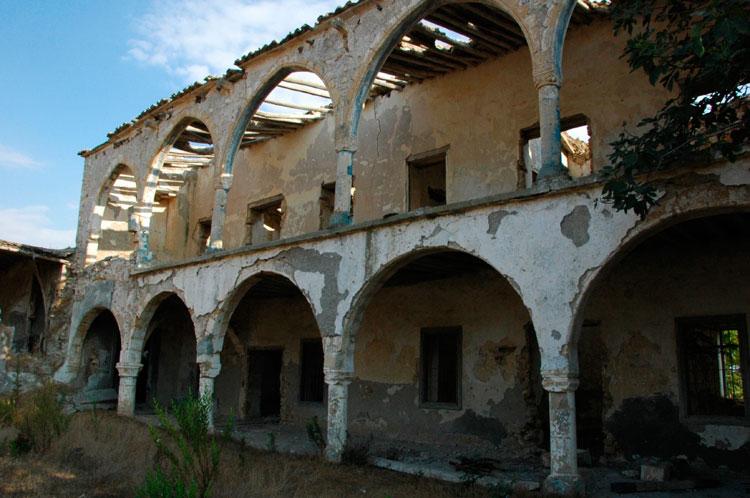 The monastery of Saint Panteleimon in Myrtou.