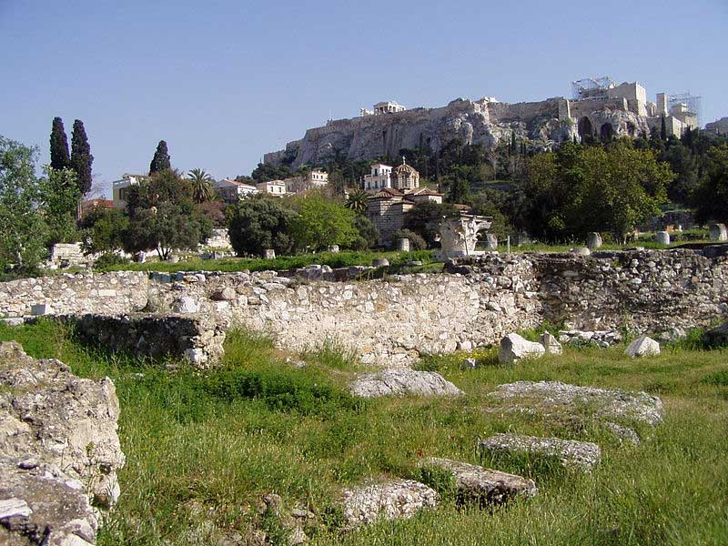 The programme of the Seminar includes a guided tour by Professor P. Valavanis to the Classical Agora of Athens.
