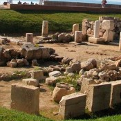 Declaration of archaeological site in Vouliagmeni