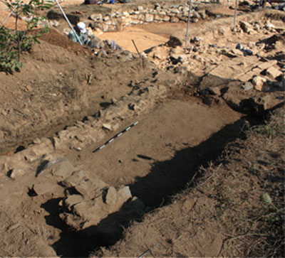 Excavations at Arachamites, Arcadia.