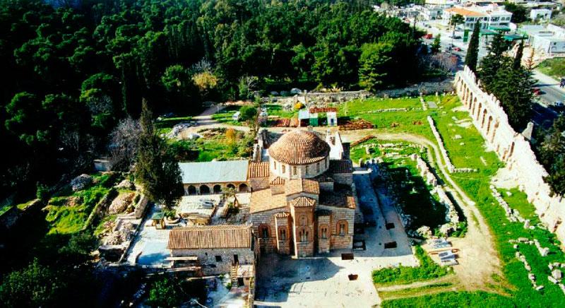 The Daphni Monastery.