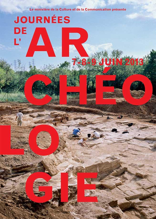 Poster of Les Journées nationales de l'Archéologie.