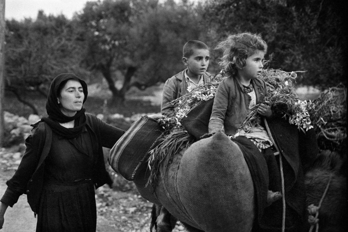 Going home from the fields. Crete. Kritsa. (© Constantine Manos/MAGNUM/AURION.