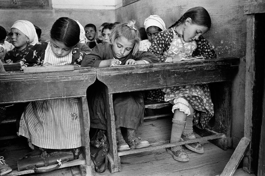 A village school, Olimbos, Karpathos. (© Constantine Manos/MAGNUM/AURION)