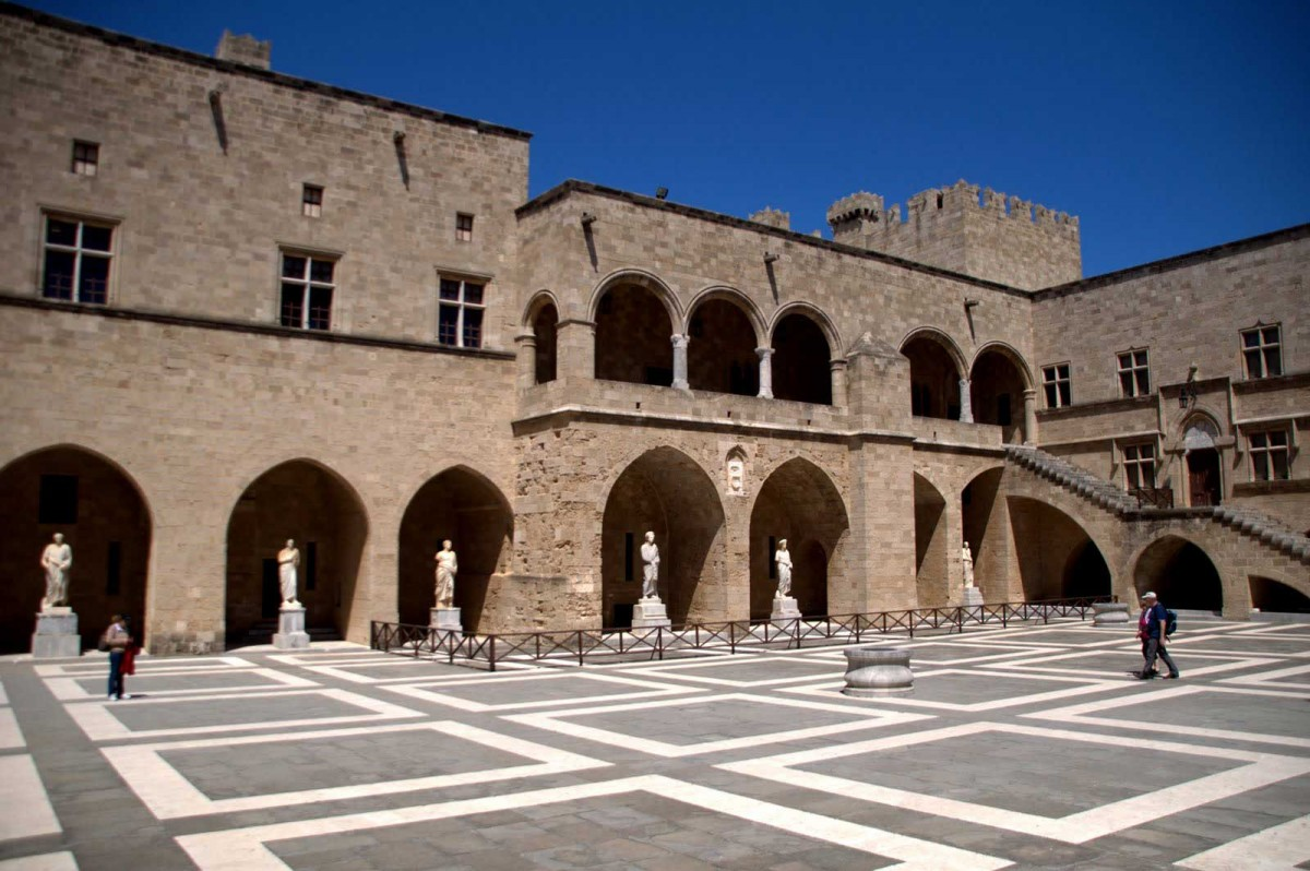 The Palace of the Grand Master of Rhodes.