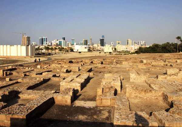 Traces of the important Dilmun civilization in Bahrain.