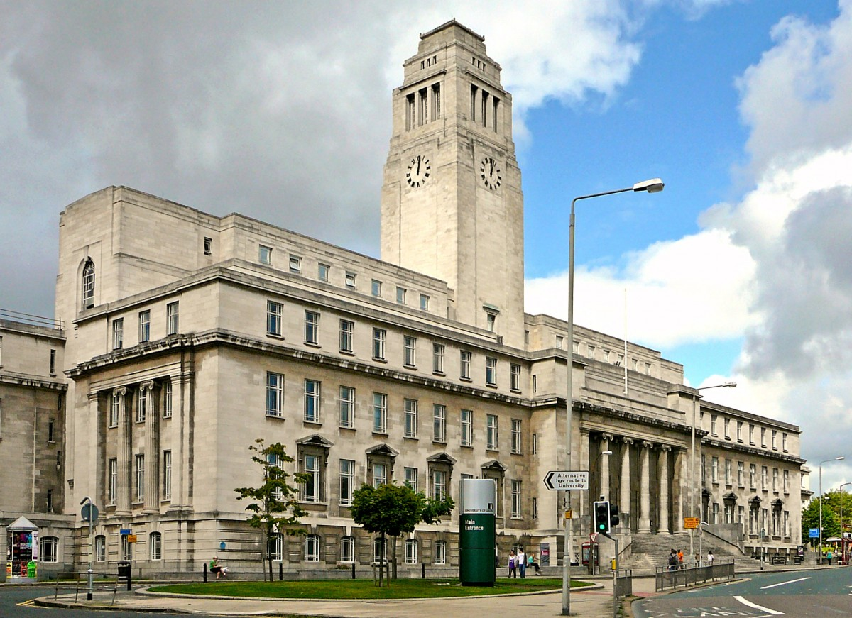 The University of Leeds.