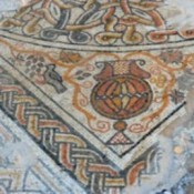 Spectacular Byzantine mosaic uncovered in Israel
