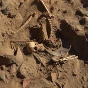 Byzantine era soldier skeleton of Nubian origin discovered