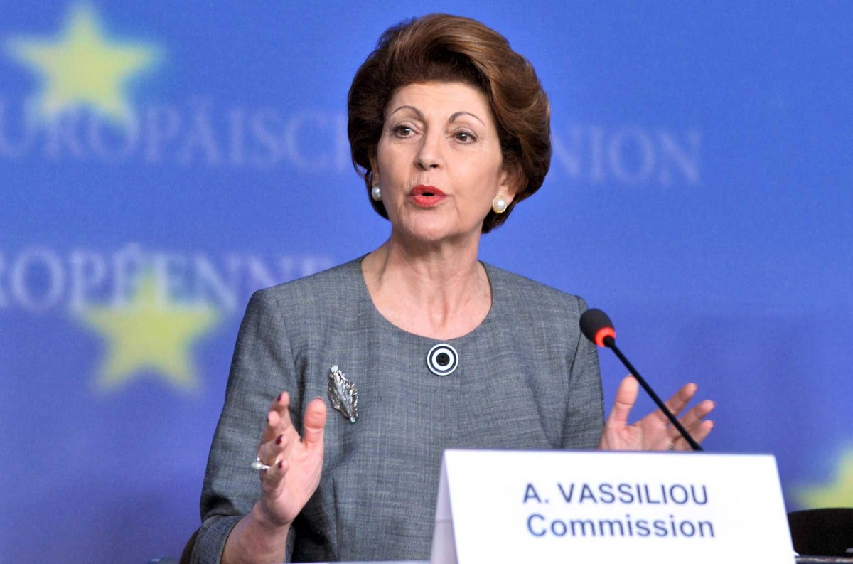 Commissioner Androulla Vassiliou, in charge of Education, Culture, Multilingualism and Youth.