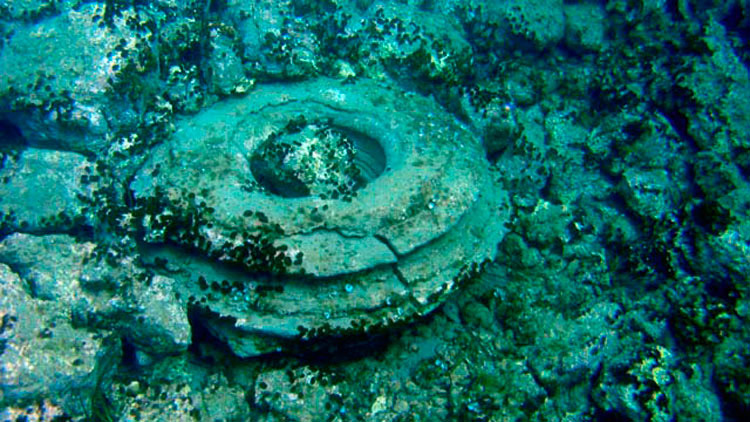 Underwater survey finds from Alikanas, Zakynthos.