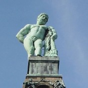 Hercules statue is now one of the World Heritage monuments of UNESCO