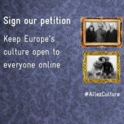 Keep Europe's culture open to everyone online