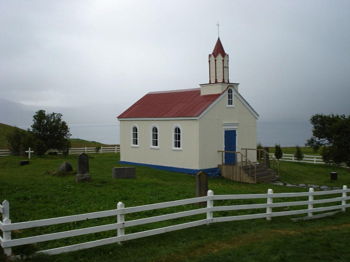 Hrafnseyri in Arnarfjördur, Iceland.