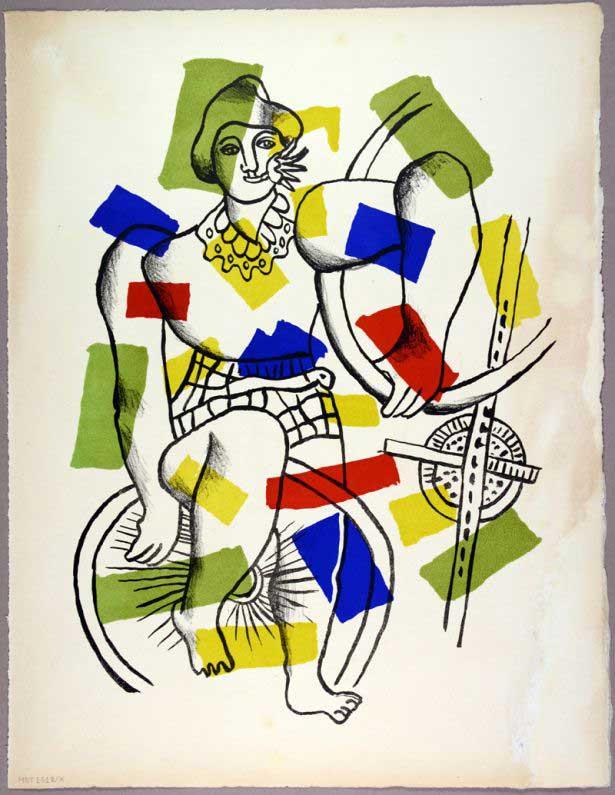 Fernand Leger, Circus. Paris 1950.