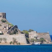 Spinalonga, the Venetian walls and the Minoan Palace