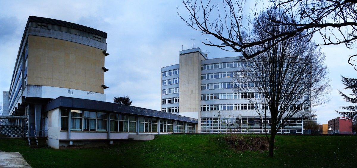 Buildings at the University of Strasbourg.