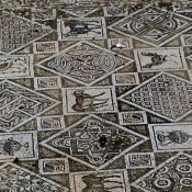 Byzantine church mosaic unearthed in Jerash