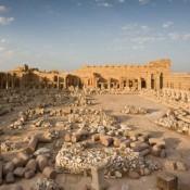 Resuming work in Leptis Magna