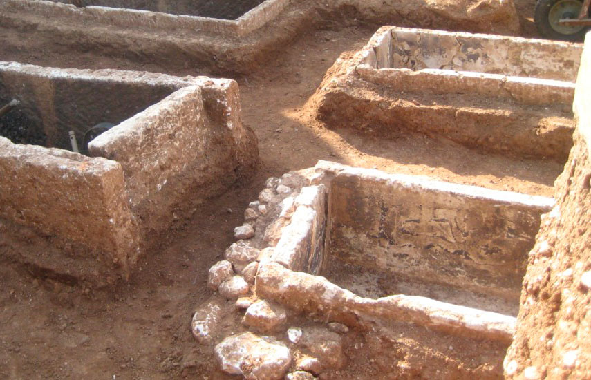 The Classical and Hellenistic era cemetery in Gonnoi of the Larissa region was illegaly excavated.