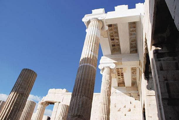The Propylaea, Acropolis, Athens.