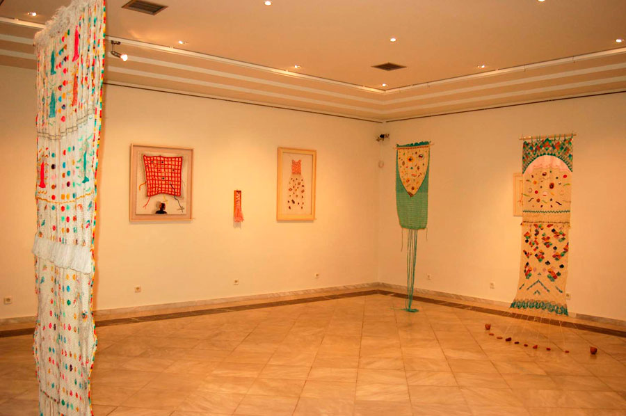 View of the exhibition at the Archaeological Museum of Volos.