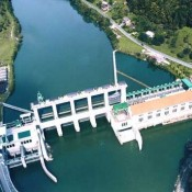 The Fala hydroelectric power station