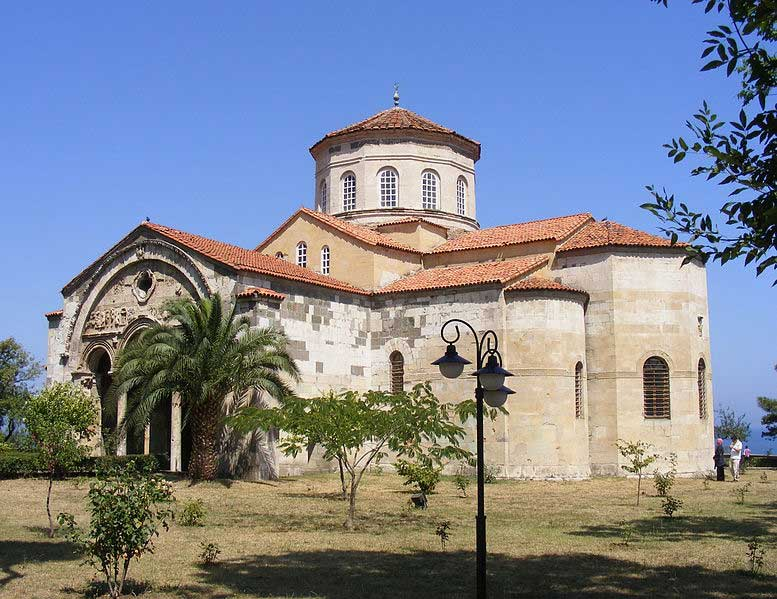 Hagia Sophia in Trabzon. (Photo: Wikimedia Commons)