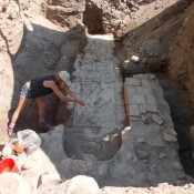 Archaeologists hit the heart of the Theban Mycenaean Palace