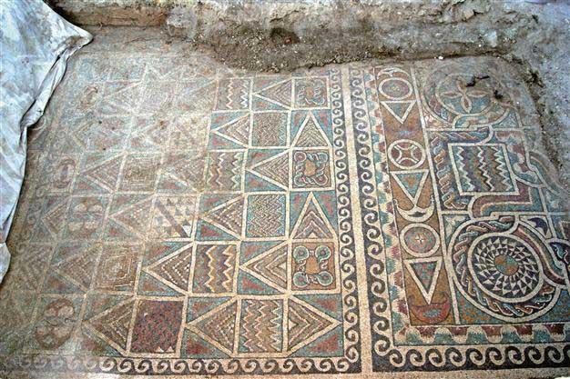 Mosaic, Amasya (Turkey).