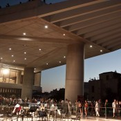 Fool Moon at the Acropolis Museum