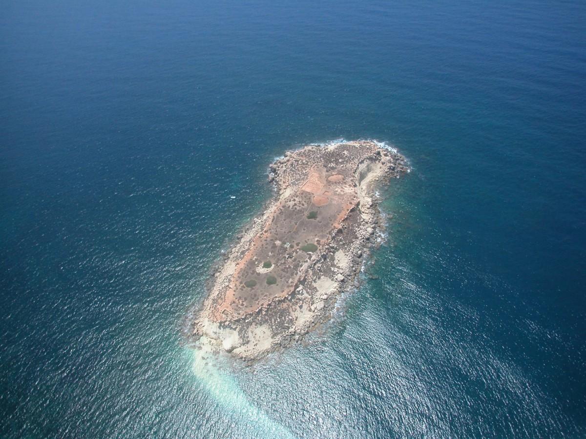 Geronisos Island.