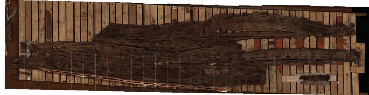 Wooden planks from Abu Rawash.