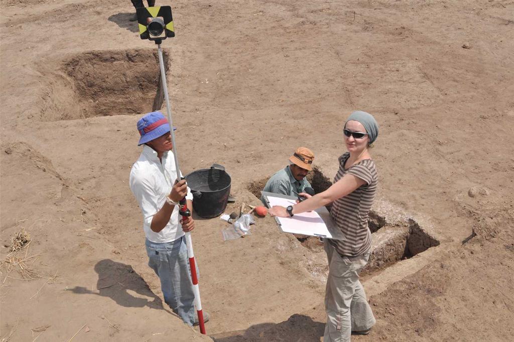 Excavations at Tell el-Murra Credit: G. Pryc.