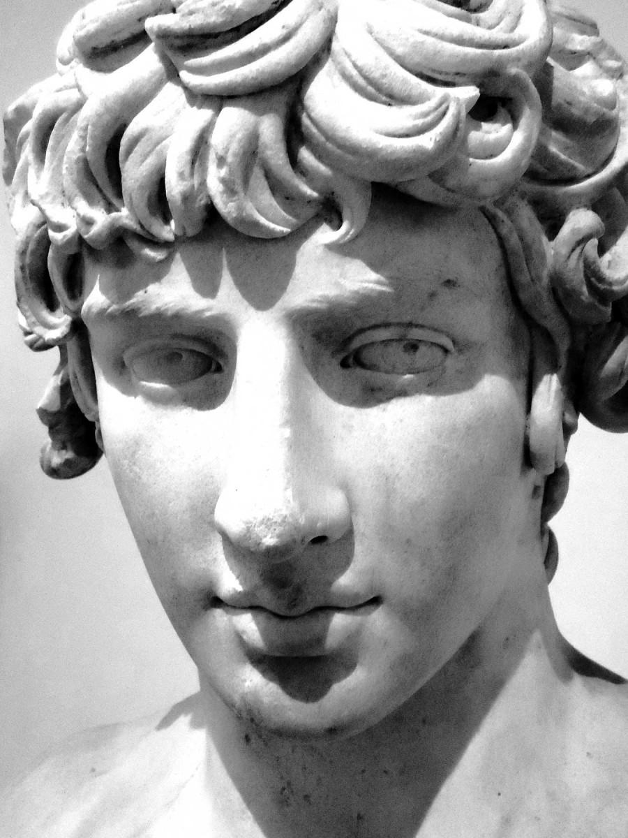 J. Garrick, Antinous made God.
