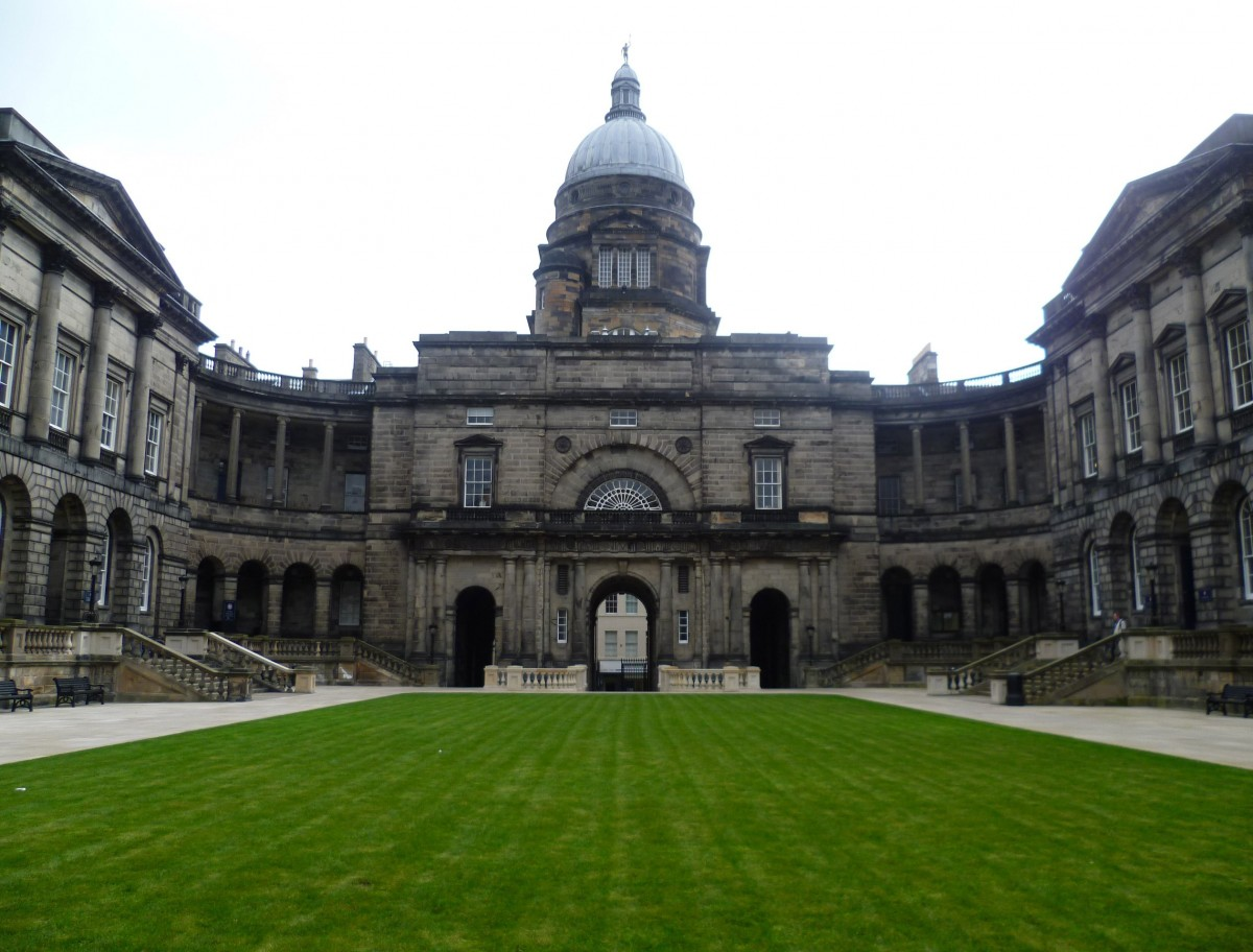 Building at the University of Edinburgh.
