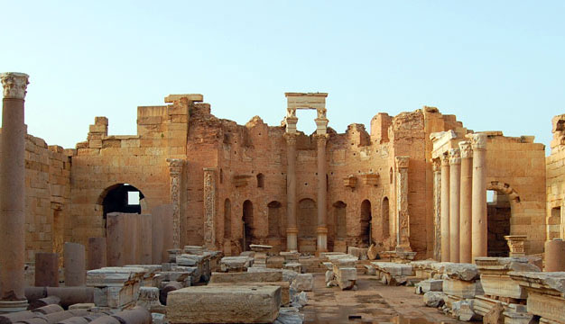 Severan Basilica, Leptis Magna.