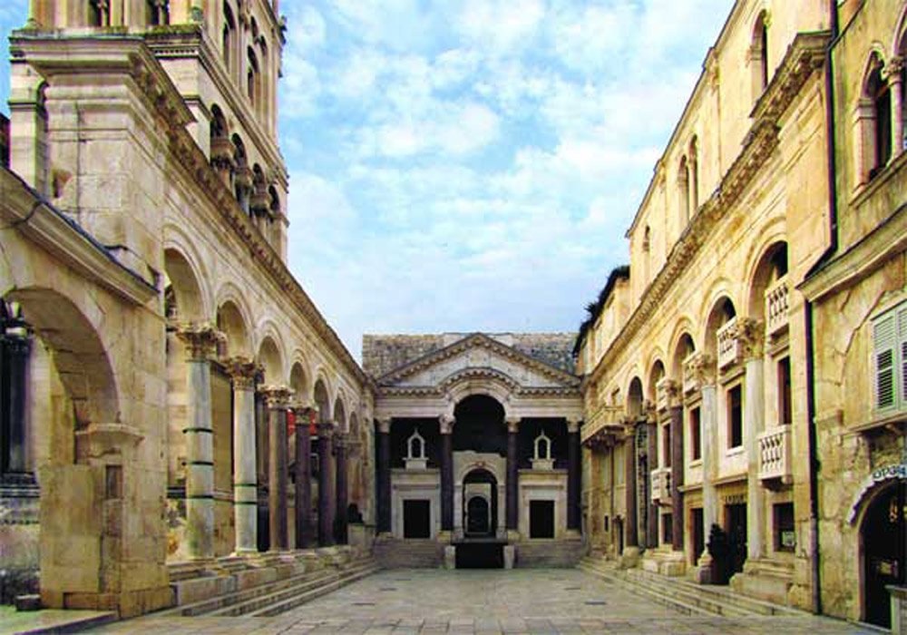 Diocletian's Palace in Split, Croatia, after restoration works. Source: Art Newspaper.