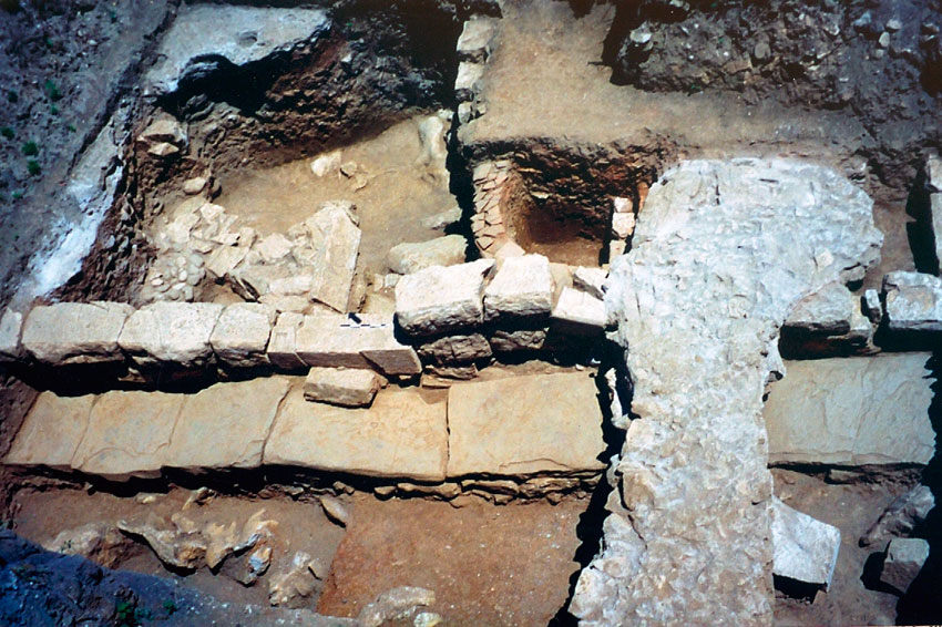 View of the excavation. (Photo credit: Archaeological Museum of Arta)