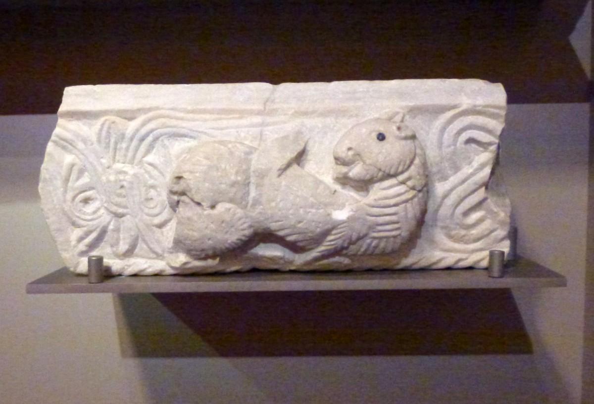 Fragment of a templon epistyle