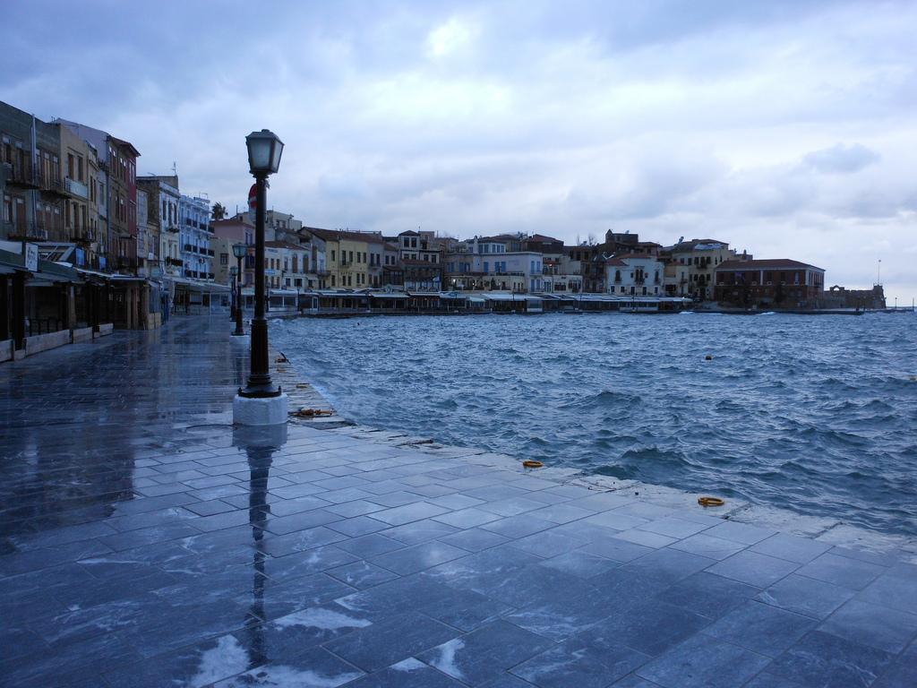 Chania Harbor. Photo: Lanah Koelle.
