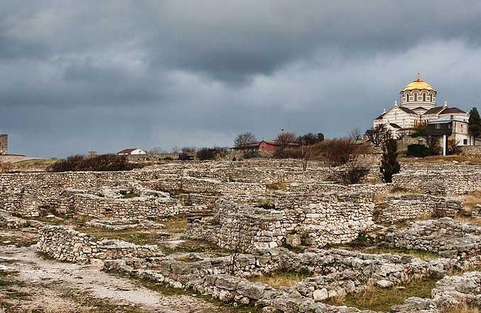 Ruins of Chersonesos - Crimea. Image: Dmitry A. Mottl